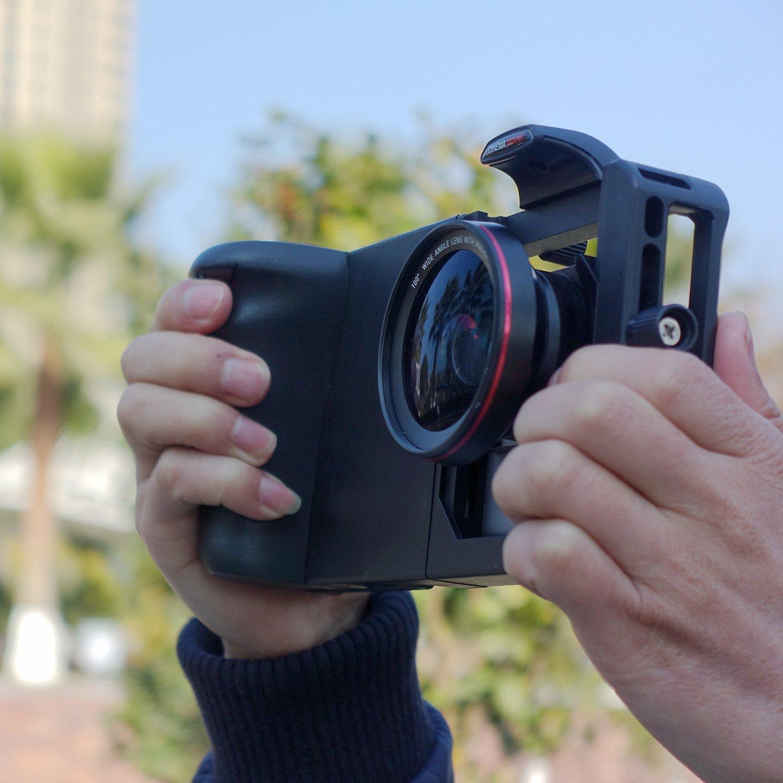 SmartPhone Rabbit Cage Handheld Camera Bracket (black)