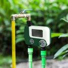 Electronic Large Screen Digital Irrigation Garden Watering Timer (green)
