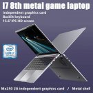 15.6-inch I7-8th Metal Game Laptop PC Intel Core I7 8th Generation CPU 8GB + 512GB