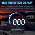 OBD HUD M13 Car Heads-Up Display Windshield Projector (Shows Speed, water temp, RPM, voltage, etc.)