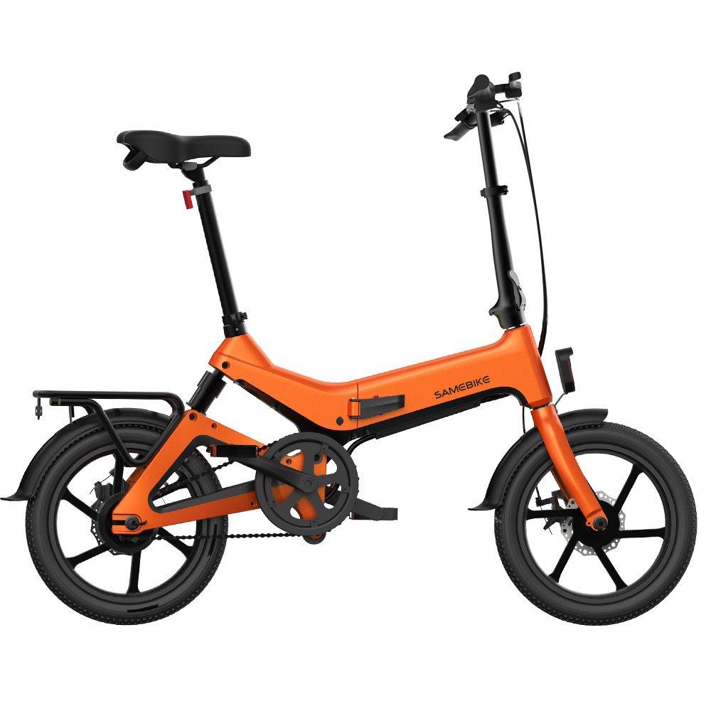 SAMEBIKE G7186 Electric Bike (Orange)