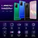 Note23 Pro+ 6.82-inch HD large-screen smartphone 2GB+ 16GB Android 6.0 Bluetooth 5.0(Blue)