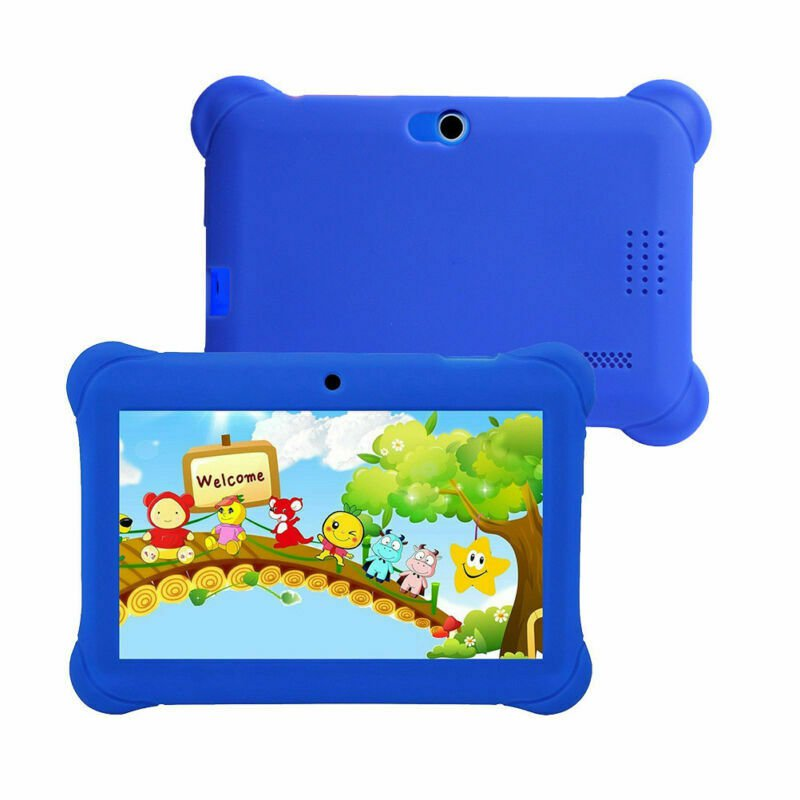7-inch Children's  Android Dual Camera Wifi Multi-function Tablet PC (Blue)