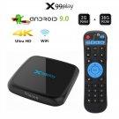 X99 Play Android 9.0 Wireless 4K IPTV USB Set Top Box 2GB+16GB 5G Wi-Fi(Black)