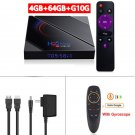 H96 MAX H616 Android 10.0-Media Player TV Box 4GB+64GB+ G10S AirMouse Voice IR Gyro Remote Control