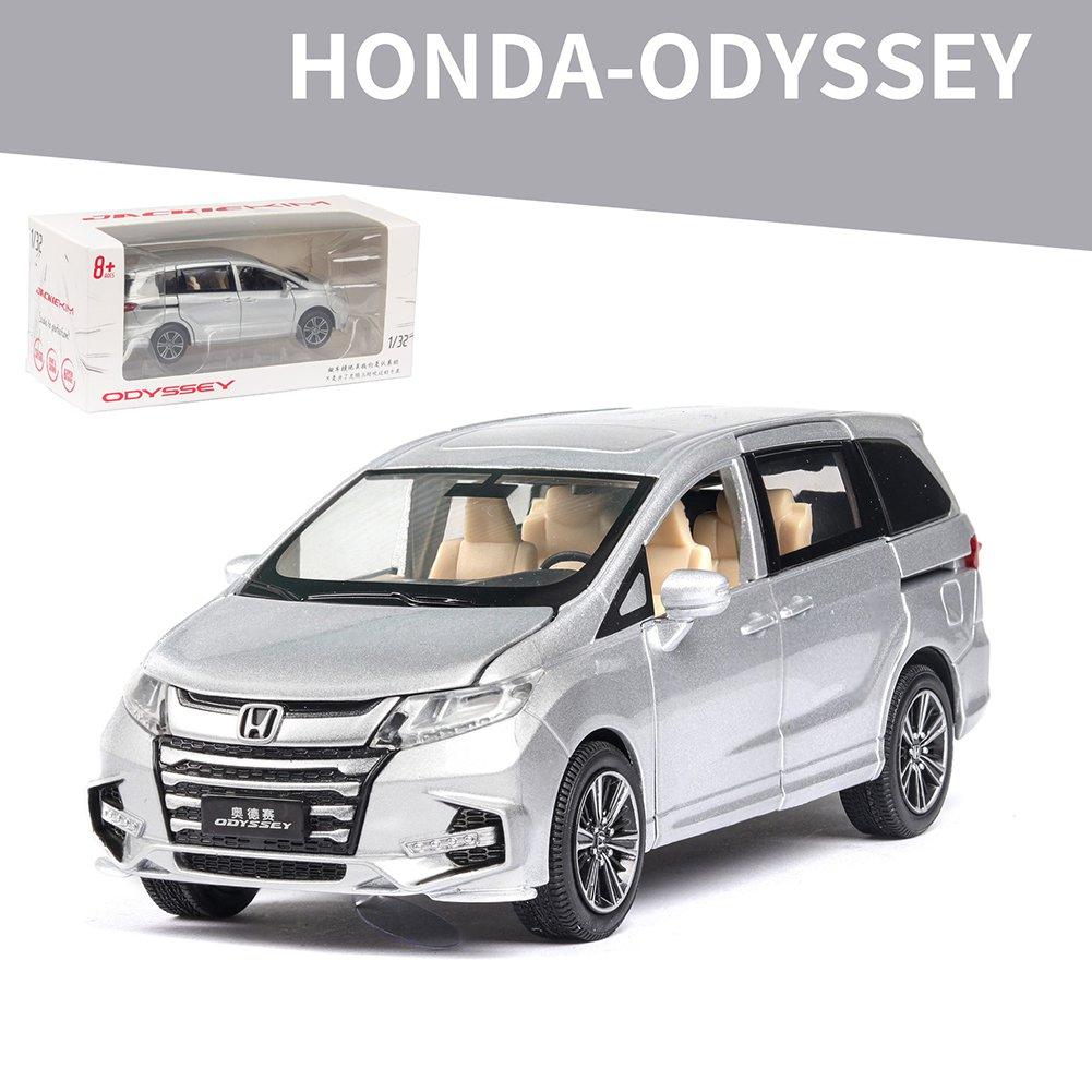 Honda Odyssey 1:32 Simulation Miniature Model Car (silver)