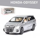 Honda Odyssey 1:32 Simulation Miniature Model Car (silver)