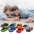5PCS 1:64 Simulated Children Toy Multi-Style Alloy Mini Car Model A