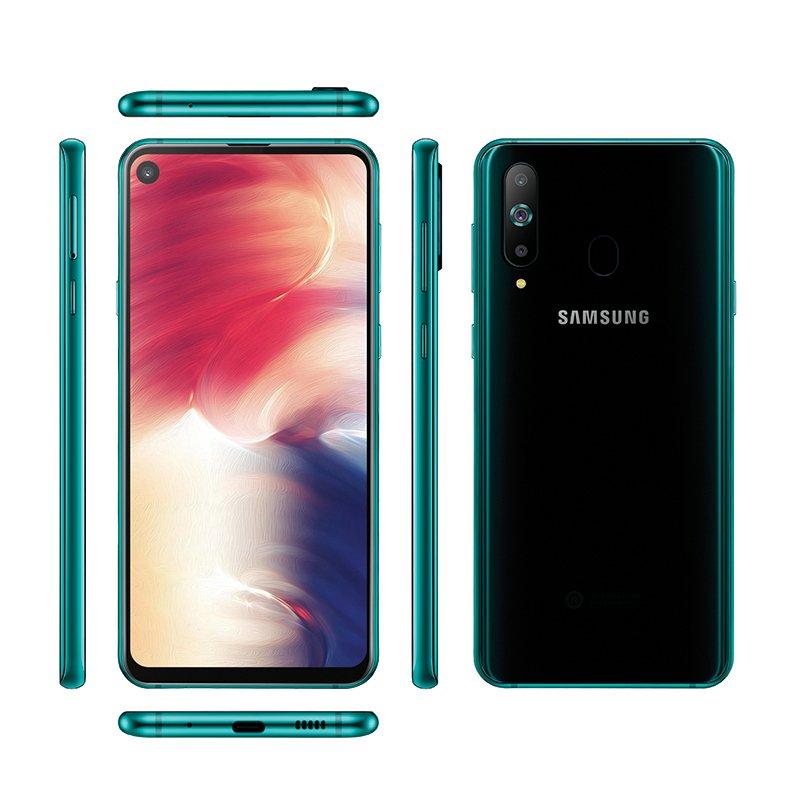 NEW Unlocked 6.4-inch Samsung Galaxy A8s Android Smartphone 6GB + 128GB Black