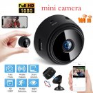 A9 Mini Remote Monitor Home Security 1080p IP Wireless WIFI Camcorder (black)
