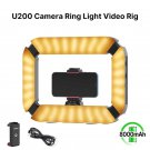Ulanzi U200 Camera Ring Light Video Rig DSLR Smartphone Handle Grip(black)