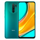 6.53-inch Xiaomi Redmi 9 Global ROM Android Smartphone 4GB+128GB (Aurora Green)