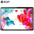BDF 10.1-inch S10 Android 4G Phone Tablet PC 8GB+128GB + LEATHER CASE (black) EU plug.
