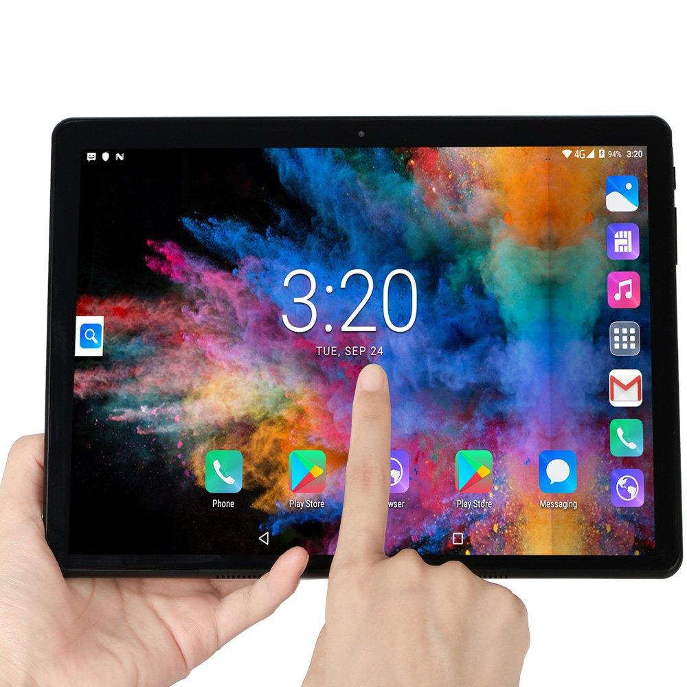 BDF 10.1-inch S10 Android 4G Phone Tablet PC 8GB + 128GB + Bluetooth Keyboard(EU plug)