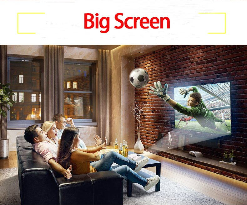 YG410 Home Theater Cinema Movie Video Projector (Screen size 50-100 inches)