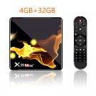 X99 Max+ Android TV Box 4GB + 32GB WIFI Smart TV Box + Remote Control (US plug)