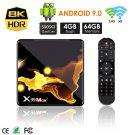 X99 Max+ Android WIFISmart TV Box 4GB + 128GB (US plug)