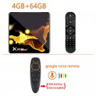 X99 Max+ Android WIFISmart TV Box 4GB + 64GB + Google VOICE G10s Air Mouse Remote with Voice Control