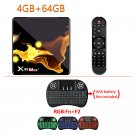 X99 MAX + Android 8K SmartWifi TV Box 4GB+ 64GB + I8 Backlit Keyboard