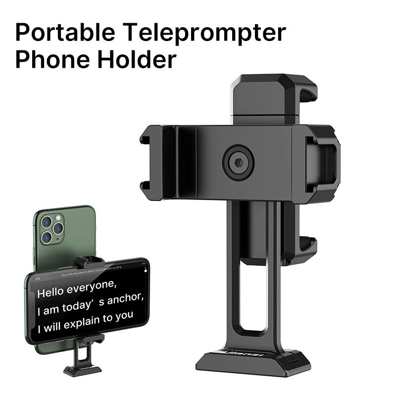 Ulanzi ST-18 Portable Teleprompter Android Smartphone Holder(black)