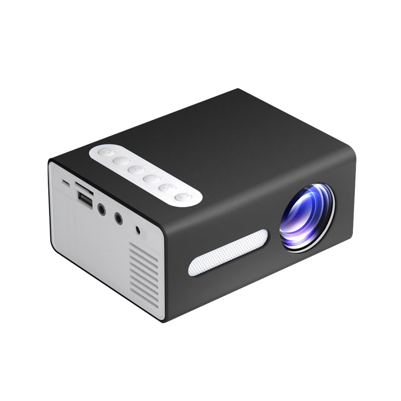 T300 LED Mini Projector Portable Kids Home RC Media Audio Player