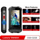 Conquest F2 Rugged Mini IP68 Android Smartphone 3GB + 32GB Deluxe Version