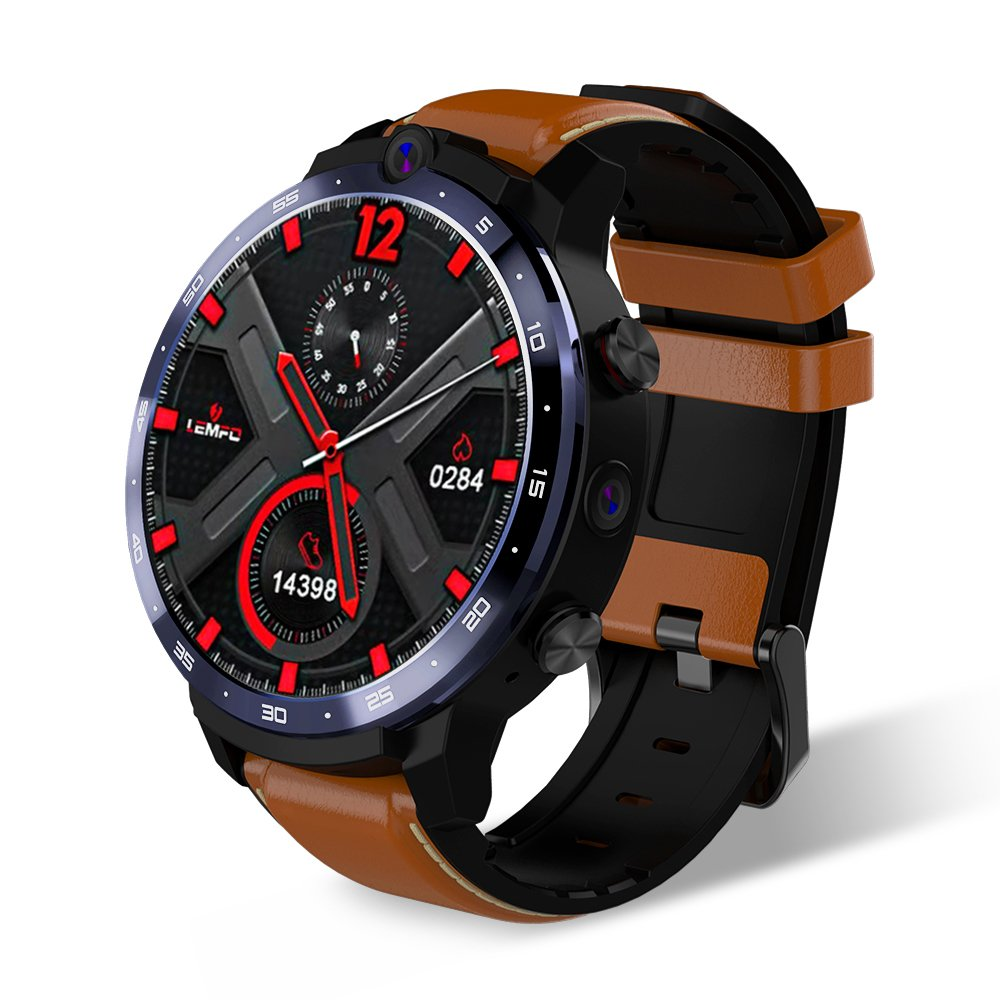 LEMFO LEM12 1.6-inch HD Android Smartwatch 3GB+32GB (brown)