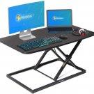 SmugDesk Standing Desk 32-inch Height Adjustable Standing Computer Desk