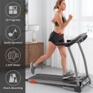 1.5hp Folding Treadmill Electric Running, Jogging and Walking Machine with Device Holder