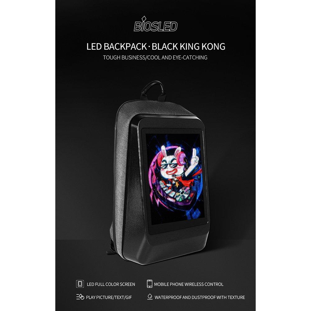 LED Backpack Display Screen Advertising Tool Knapsack