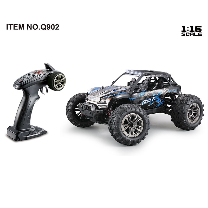 Q902 4WD Remote Controlled Desert Crawler RC Car (over 32 mph) (Red)