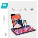 Mini Dual-mode Rainbow Bluetooth Keyboard for Android Smartphone, iPad or Tablet PC(black)