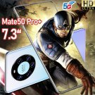 H30 Mate50 Pro+ 7.3-inch Android Smartphone 2GB+ 16GB Beautiful Sky Realm
