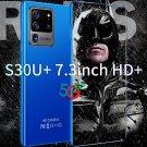 New Unlocked H40 S30U+ 7.3-inch Android Smartphone 2GB+16GB+Face Rec+ Fingerprint Unlock