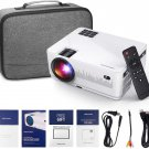 DBPOWER L21 Android LCD Video Projector with Carrying Case (Screen size 40-200 inches.)