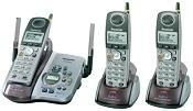 PANASONIC KX-TG5433M 5.8GHz 3 Handset Digital Cordless System