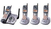 Panasonic kx-tg5634 5.8 GHz Digital Cordless Answering System with 4 Handsets