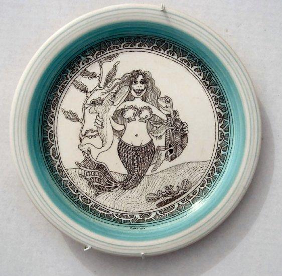 Decorative Glass Plate