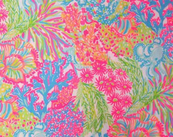 Lovers Coral Poplin....please read entire description