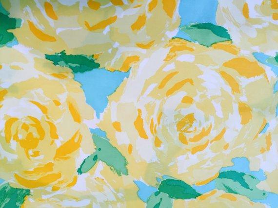 Yellow first Impressions Poplin....please read entire description