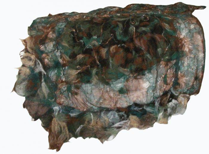 'Forest'  shawl/throw