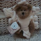 "BOYDS GLIMMER B. SNOWFLAKE 6"" EXCLUSIVE PEEKER BEAR SO CUTE *NEW STORE STOCK*"