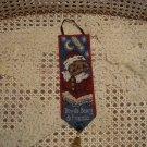 BOYDS BEARS TWAS THE NIGHT BEFORE CHRISTMAS MINI BELLPULL WALL HANGING *NEW*