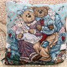 BOYDS BEARS LARGE NEW BABY FAMILY PILLOW RETIRED *NEW STORE STOCK*