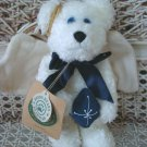 """BOYDS GALAXY 7"""" RETIRED ANGEL BEAR WITH PILLOW  ***NEW STORE STOCK**"""