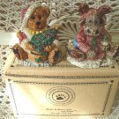 BOYDS GRENVILLE & MANHEIM MOOSE & BEAR SALT & PEPPER SHAKERS *NEW STORE STOCK*