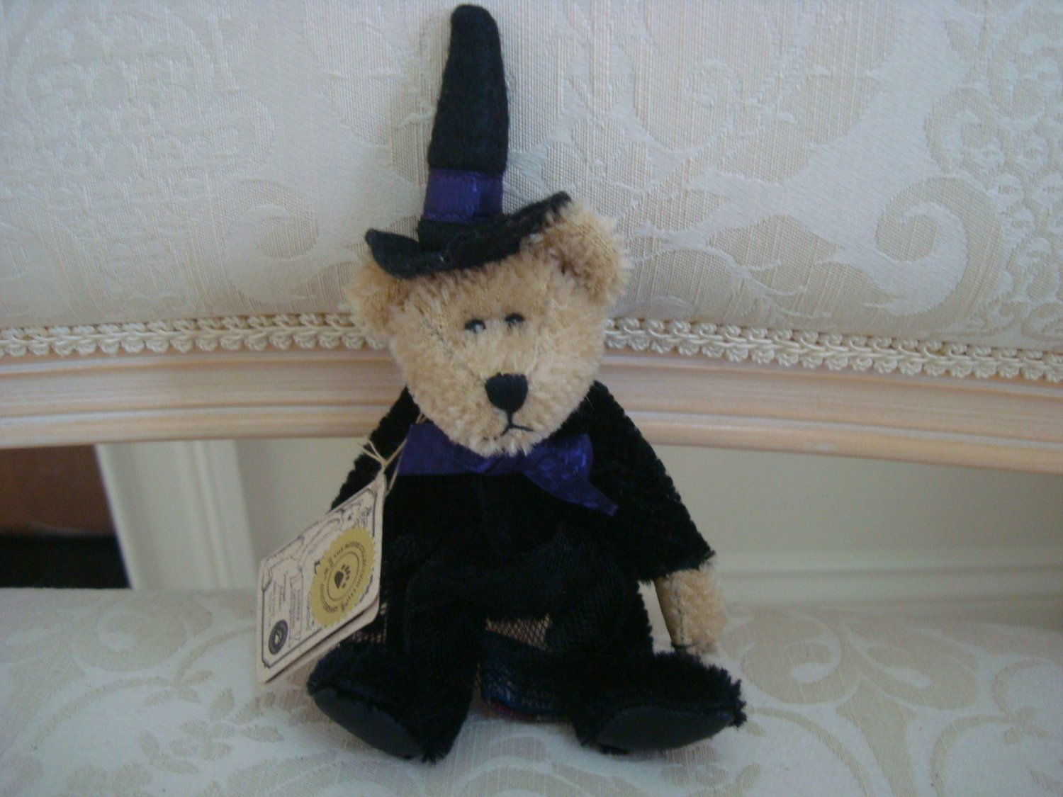 BOYDS EASTWICK MINI MOHAIR WITCH BEAR HALLOWEEN  *NEW STORE STOCK* SO CUTE
