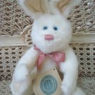 "BOYDS AMELIA R. HARE 10"" TALL RETIRED WHITE BUNNY EASTER **NEW STORE STOCK***"