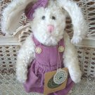 "BOYDS JULIANA 8"" BUNNY IN JUMPER ***NEW STORE STOCK**"