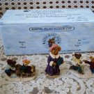 BOYDS BEARLY A SCHOOL WINTER VILLAGE FIGURINES *NEW STORE STOCK** RETIRED
